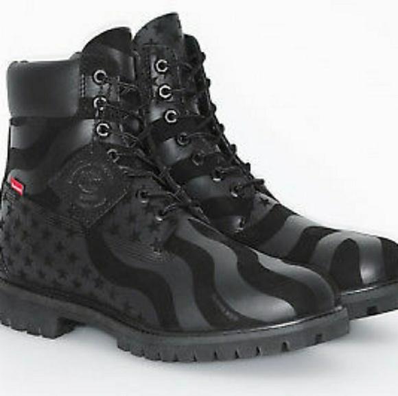 timeless design 78543 e7ce8 Supreme Timberland boots size 9 1 2